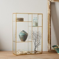 Gold Shadow Box - Display Case