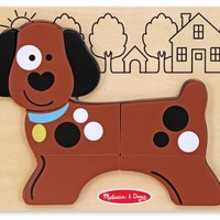 Melissa & Doug My First Chunky Puzzle - Puppy Dog