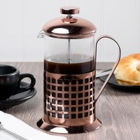 Glass-Copper French Coffee Press