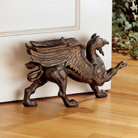 Park Avenue Collection Growling Griffin Door Stop