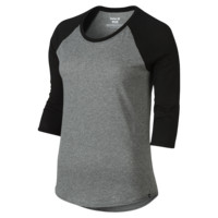 Hurley Staple Perfect Raglan Women's T-Shirt