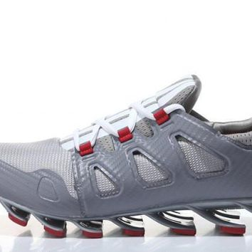 Adidas Springblade Ignite. Light Grey Men's Gym Shoes