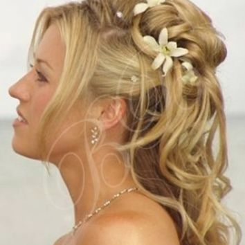 half up hairstyles - Google Search
