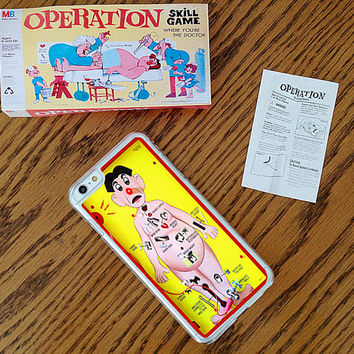 Operation inspired, Custom Phone Case for iPhone 4/4s, 5/5s, 6/6s, 6/6s+ and iPod Touch 5