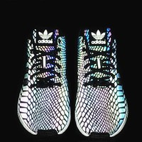 fashion adidas chameleon reflective sneakers sport shoes-8