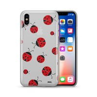 Ladybug - Clear Case Cover