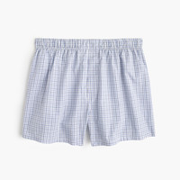 Tattersall boxers in blue