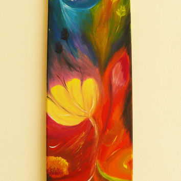 Colorful Heat - a picture painted with oils