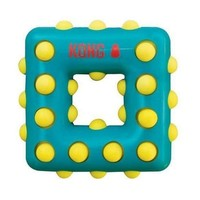 KONG Dotz Square Dog Chew Toy Size: Small