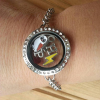 Harry potter locket bracelet