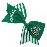 Harry Potter Slytherin Cheer Bow