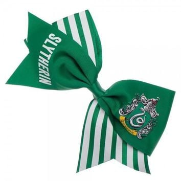 MPA Harry Potter Slytherin Cheer Bow