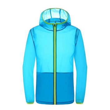 Unisex Ultra-light Quick Dry Anti-uv Sun Protective Outdoor Jacket Men Women Sport Hiking Camping Cycling Climbing Beach Coat