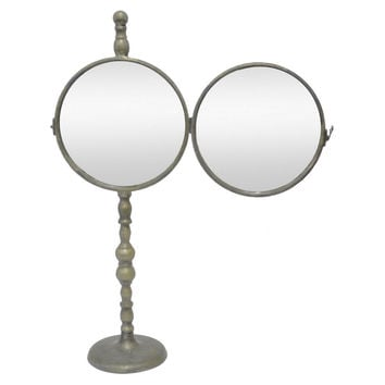 Mirrors, Glen Table Mirror, Distressed Silver, Small Accent Mirrors