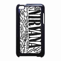 Nirvana all member and song titles collage for iPod Touch 4th case *RA*