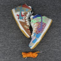 Best Deal Online Nike SB What The Dunk High Men Women Sneaker 918321-381