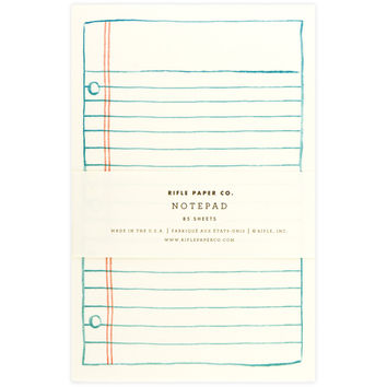 Lined Paper Notepad