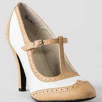 MOJO MOXY SHOES, HANNON OXFORD PUMP