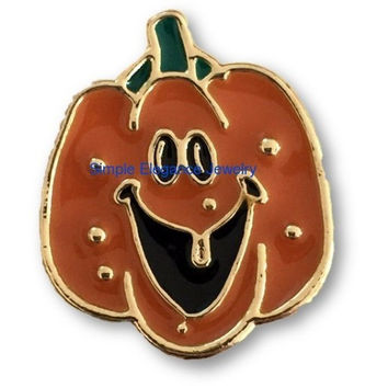 Metal Pumpkin Snap 20mm for Snap Jewelry