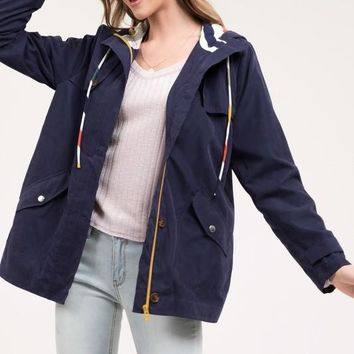 Puddle Jumper Jacket - Navy