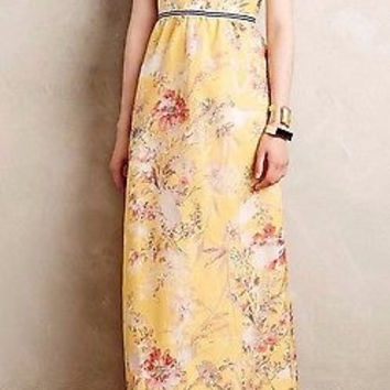Anthropologie $298 Varennes Maxi Dress by Vineet Bahl - NWT