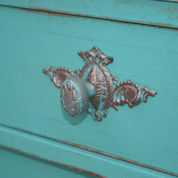 1 - Back plate /Furniture Applique / Shabby chic furniture / Romantic Cottage / DIY projects / onlays / painted furniture
