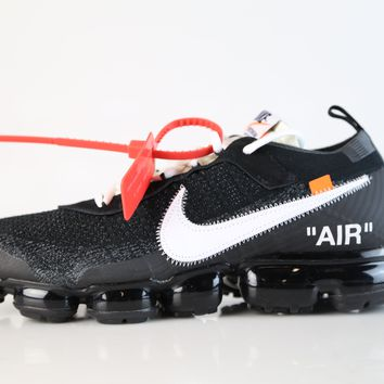 BC KUYOU Nike X Off-White c/o Virgil Abloh Air VaporMax Black White AA3831-100 (NO Codes)