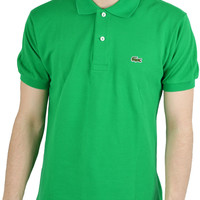 Men's Lacoste Green Polo Shirt