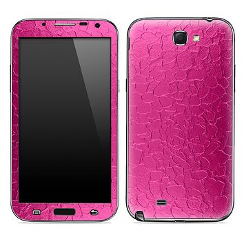 The Pink Stamped Metal Skin for the Samsung Galaxy Note 1 or 2
