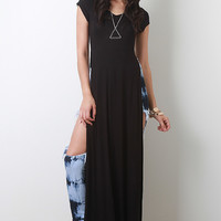 High Slit Maxi Top