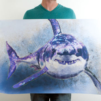 Great White Shark Wall Art