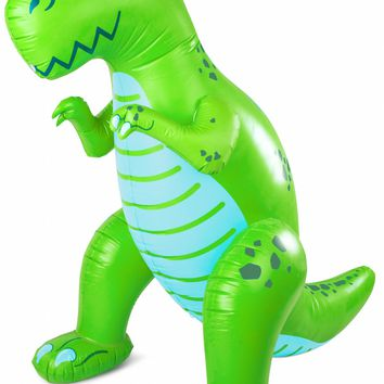 Giant T-Rex Dinosaur Yard Sprinkler - Over 7 Feet Tall!