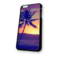 Trees on Beach iPhone 6 Plus case