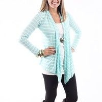 Out And About Cardigan, Mint