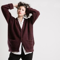 JOINERY - Ribbed Mohair Cardigan by Sayaka Davis - WOMEN