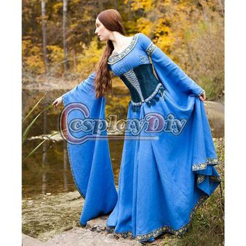 Medieval Central Europe Dress Adult Women Cosplay Costume Custom Made