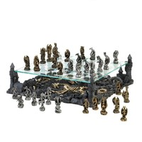 Two Tier Dragon Chess Set