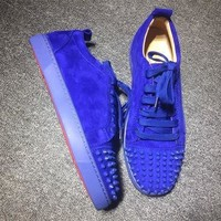 Christian Louboutin CL Low Style #2050 Sneakers Fashion Shoes Best Deal Online