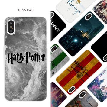 BINYEAE All This Time Always Harry potter Hard White Phone Case Cover Coque Shell for iPhone X 6 6S 7 8 Plus 5 5S SE 4 4S 5C