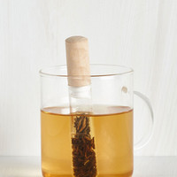 Rustic Glad You Could Chem Tea Infuser by Kikkerland from ModCloth