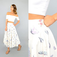 50's Seashell NOVELTY Skirt