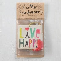 Live Happy Air Freshener