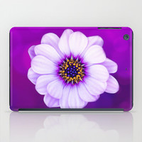 HIGH QUALITY iPad Cases and Skins - iPad Case (2nd, 3rd, 4th Gen)  iPad Mini CASE iPad Mini Skin - Purple Daisy Floral Tablet Protection