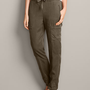 Women's Tranquil Cargo Jogger Pants | Eddie Bauer