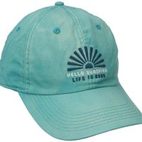 Life is good Beachwash Sunshine Chill Cap (Teal Blue), One Size