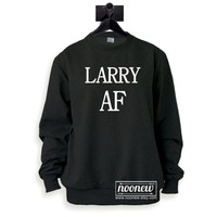 Larry Stylinson Sweatshirt Larry AF Sweater Crew Neck Shirt – Size S M L XL