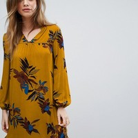 PrettyLittleThing Floral Smock Dress at asos.com