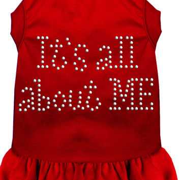 Rhinestone All About me Dress Red 4X (22)