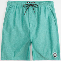 Tavik Belmont Mens Volley Shorts Teal Blue  In Sizes