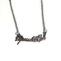Impossible Necklace
